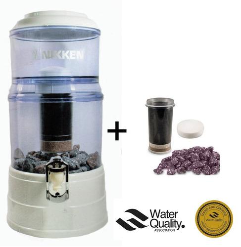 Purificador de agua filtro nikken pi water paquete completo 4 en mercado libre - Filtros para grifos de agua ...