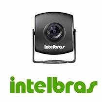 Mini Câmera Intelbras Vm 220 Ccd Sony 1/3 Super Had 2 Color