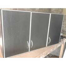 Alacena De 1,30 Con Canto De Aluminio
