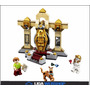 Set Completo Múmia Minifiguras Scooby-doo Ao Lego