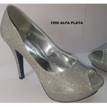 Zapatilla Lucrecia Cordero 1556 Plata Zara Lob Berska Liz