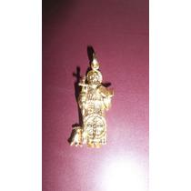 Dije San Charbel Oro Laminado Italiano 24 K