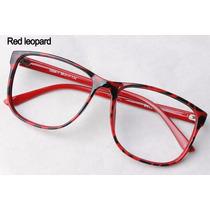Armação Óculos Vintage Retrô Quadrado E Redondo