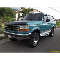 Ford Bronco Aniversario - Automatico