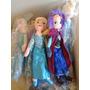 Peluche Muñeco Princesa Elsa Y Ana Frozen Musical Gigante