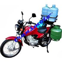 Suporte Para Transportar Agua E Gas Em Moto
