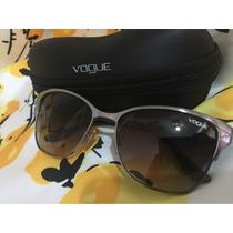 Lentes Gafas De Sol Dama Cafes Vogue Originales Nuevos