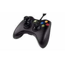 Control Microsoft Xbox 360/pc Inalambrico Negro Usb