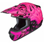 Casco Motocross Hjc Cs-mx Graffed Mc-8 Talle M