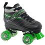 Velocidad Patines Quad Corp De Skate Roller Derby Láser