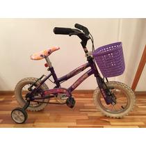 Bicicleta Infantil P/ Niña Rodado 12