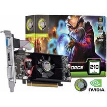 Placa De Vídeo Nvidia 210 1gb Ddr3 Hdmi 64bits Point Of View
