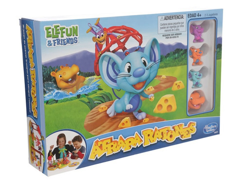 Atrapa ratones hasbro juego mesa elefun friends nuevo - Como atrapar ratones ...