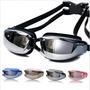 Gafas De Natación Profesional Protección Uv, Anti Niebla