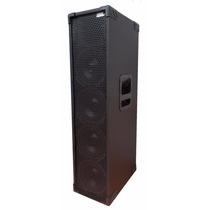 Caixa Som Amplificada Line Array Profissional 4x8 800rms