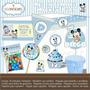 Kit Imprimible Personalizado De Mickey Baby - 5 Articulos