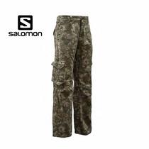 Pantalon Cargo Salomon Camuflado Últimos L Y Xxl-weekendpesc