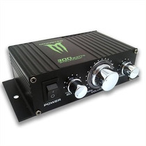 Potencia Monster 300 Watts Moto Celular Mp3 Ipad Auto