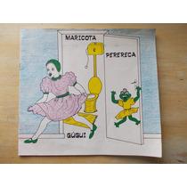 Livro Infantil - Maricota E Perereca - Gúgui Com Dedicatória