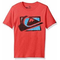 Quicksilver Camisa Malha Masculina 12-15 Anos Original 12x