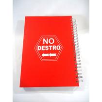 Caderno Para Canhotos De 10 Matérias (vermelho) - No Destro