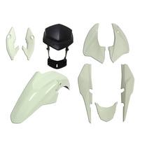 Carenagem Titan 150 Branco 2014 -es-ex