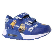 Zapatilla Air Minions Retro Bob Originales Addnice Con Luces