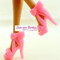 Sapatinho De Luxo Para Boneca Barbie * Sapato Tamanco Mattel