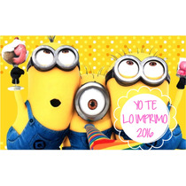 Kit Imprimible Minions Mi Villano Favorito,candy Ytli2016