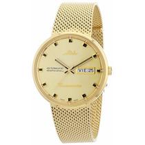 Reloj Mido Commander M842932213n Dor. Caballero Envío Gratis