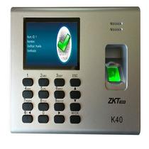 Control De Acceso Simple Y Asistencia-zk K40-1000 Huellas+c+
