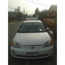Honda Civic Ex 2001 1.7 Blanco 5 Puertas