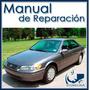 Manual De Taller Y Reparación Toyota Camry 1997-2001 Ingles