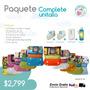 10 Pañales Ecologicos Unitalla + Bambu + Detergente