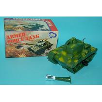 Antiguo Tanque De Guerra A Cuerda Wind Up Toy Hong Kong