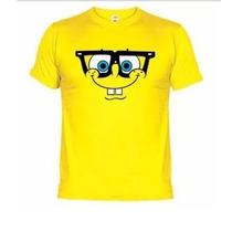 Lindas Camisetas Engraçadas Divertidas Bob Esponja Óculos