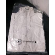 Camisa Cuello Mao Color Blanca Nueva