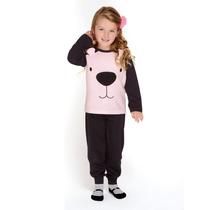 Pijama De Invierno Marcela Koury De Nena Pantalon Puño 4586