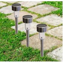 Lamparas Leds Solares P/jardin ( 12 Pack) Acero Inoxidable