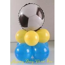 Centro De Mesa Globo Minions, Futbol, Mickey, Hombre Araña