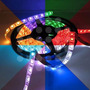 Rollo De Cinta Led 5050 Rgb Multicolor Control + Adaptador