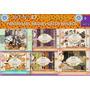 1 Kit Imprimible X 6 Halloween Scrapbook Vintage Retro Bruja