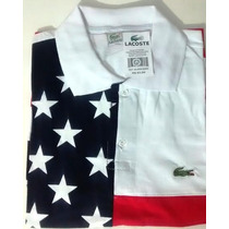 Kit6 Polo Lacoste Importada Estados Unidos Usa Top