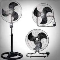 Ventilador Industrial 135 Watts 3 En 1-aspas Metálicas