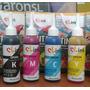 Kit Tinta Dye Impresora Epson L120 L200 L210 L355 L555 1300