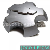 Jogo Calota Centro De Roda S10 Blazer Executive 2009 2010