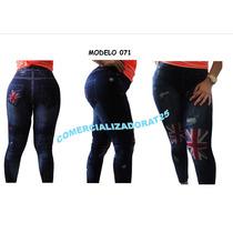 Leggins Dama Tipo Jeans Tela Gruesa El Mejor Precio