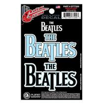 Adesivo Para Guitarra Planet Waves Tattoo Beatles Logo
