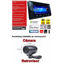 Reproductor Sony Pantalla Touch 6.2 Usb/android/camara/ipod