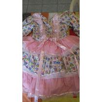 Vestido Para Menina De 8, 9 Anos Desta Junina